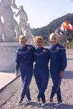 Usa Gymnasts Sharon Richardson, Doris Fuchs, and Muriel Davis-Grossfeld, 1960 Rome Olympic Games Photographic Print by George Silk
