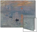 Impression: Sunrise, 1872 Posters by Claude Monet