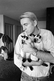 Rod Mckuen- American Poet and Visionary in the Revitalization of Popular Poetry, 1967 Photographic Print by Ralph Crane