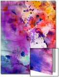Abstract Grunge Texture With Paint Splatter Poster by  run4it