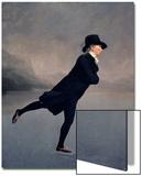 The Reverend Robert Walker Skating on Duddingston Loch, 1795 Poster von Sir Henry Raeburn