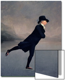 The Reverend Robert Walker Skating on Duddingston Loch, 1795 Posters by Sir Henry Raeburn