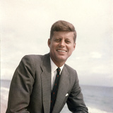 Senator John F. Kennedy Portrait, 1957 Photographic Print by Hank Walker