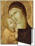 Madonna and Child Prints by  Sano di Pietro