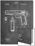 Colt 45 Patent 1911, Firearm Patent Posters