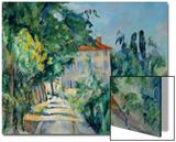 Maison Au Toit Rouge- House with a Red Roof, 1887-90 Kunstdrucke von Paul Cézanne