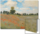 Wild Poppies, Near Argenteuil (Les Coquelicots: Environs D'Argenteuil), 1873 Posters by Claude Monet