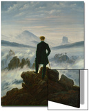 The Wanderer Above the Sea of Fog, about 1818 Prints by Caspar David Friedrich
