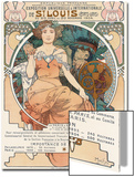 Poster for the World Fair, St, Louis, 1903 Prints by Alphonse Mucha