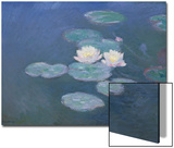 Waterlilies, Evening Art by Claude Monet