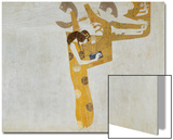 Beethovenfrieze, Allegory of Poetry Prints by Gustav Klimt