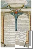Declaration des Droits de l'Homme et du Citoyen decretes par la Convention Nationale en 1793, Prints