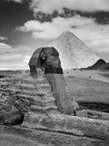 Sandbags Being Used to Protect Sphinx Against Enemy Bombs, Giza, Egypt, 1942 Photographic Print by Bob Landry