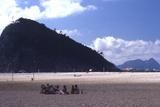Beach in Rio De Janeiro, Brazil Fotografisk tryk af Alfred Eisenstaedt