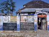 December 1946: Entrance to the Silver Lining Cafe in Jamaica Photographic Print by Eliot Elisofon