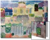 Garden in Saint-Germain, the European Quarter of Tunis, 1914 Kunstdrucke von Paul Klee