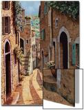 Tuscan Walkway Art by Guido Borelli