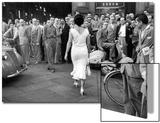 The Italians Turn, Milan 1954 Láminas por Mario de Biasi
