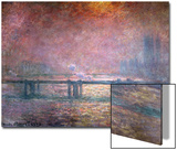 The Thames at Charing Cross, 1903 Prints by Claude Monet