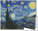 The Starry Night, June 1889 Art by Vincent van Gogh