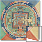 Mandala du Potala de Lhassa Posters