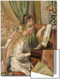 Young Girls at the Piano, 1892 Posters by Pierre-Auguste Renoir