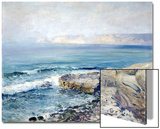 Incoming Fog, la Jolla Poster by Guy Rose