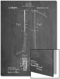 Hockey Stick Patent Poster