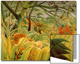 Tiger in a Tropical Storm (Surprised!) 1891 Posters by Henri Rousseau