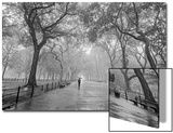 Central Park Poet's Walk - New York City Landmarks Poster by Henri Silberman