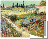 The Garden at Arles, 1888 Posters by Vincent van Gogh
