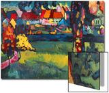 Murnau, 1909 Kunstdruck von Wassily Kandinsky