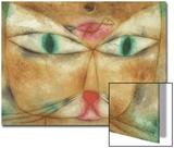 Cat and Bird Affiches par Paul Klee