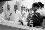 Dr. Adrian Kantrowitz with Colleagues at the Bedside of Case L1. Brooklyn, NY June 1966 Photographic Print by Ralph Morse