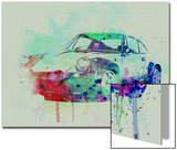 Porsche 911 Watercolor 2 Poster by  NaxArt