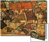 Yellow City, 1914 Posters by Egon Schiele