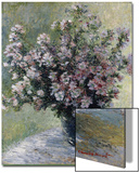 Vase of Flowers Posters by Claude Monet