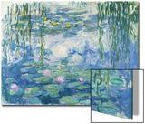 Waterlilies, 1916-19 Art by Claude Monet
