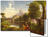The Voyage of Life: Youth, 1842 Poster by Thomas Cole