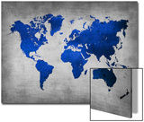 World  Map 10 Prints by  NaxArt