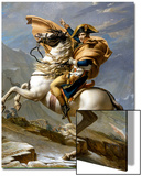 Napoleon Crossing the Alps, c.1800 Posters by Jacques-Louis David