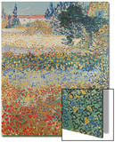 Garden in Bloom, Arles, c.1888 Affiche par Vincent van Gogh