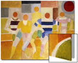 The Runners, 1926 Art by Robert Delaunay