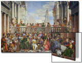 The Wedding at Cana (Post-Restoration) Poster von Paolo Veronese