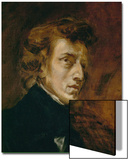 Frederic Chopin (1809-1849), Polish-French Composer Poster by Eugene Delacroix