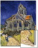 The Church in Auvers-Sur-Oise, c.1890 Affiches par Vincent van Gogh