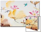 Autumn Lotus Prints by Chi Wen