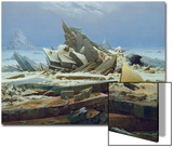The Polar Sea (The Failed Hope), about 1823/24 Prints by Caspar David Friedrich