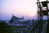 Sunrise at the Yoyogi National Gymnasium, 1964 Tokyo Summer Olympics, Japan Fotografisk trykk av Art Rickerby