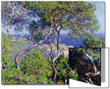 Villas à Bordighera, 1884 Art par Claude Monet